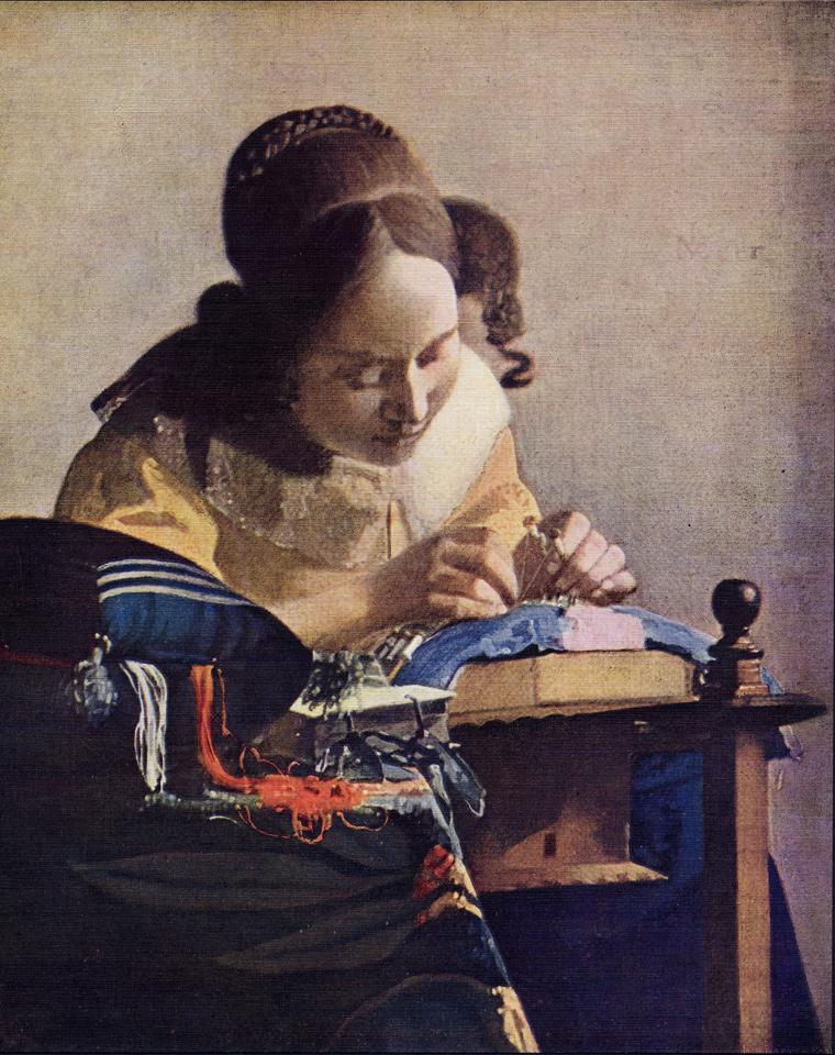 Vermeer S Paintings In The Louvre