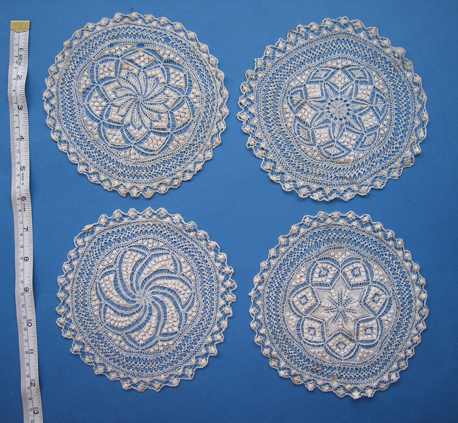 Knitting Patterns Lace Doilies : 1000+ images about Doily - knitted on Pinterest Doilies ...