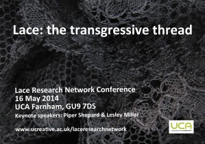 Lace Research Network - Conference flyer
