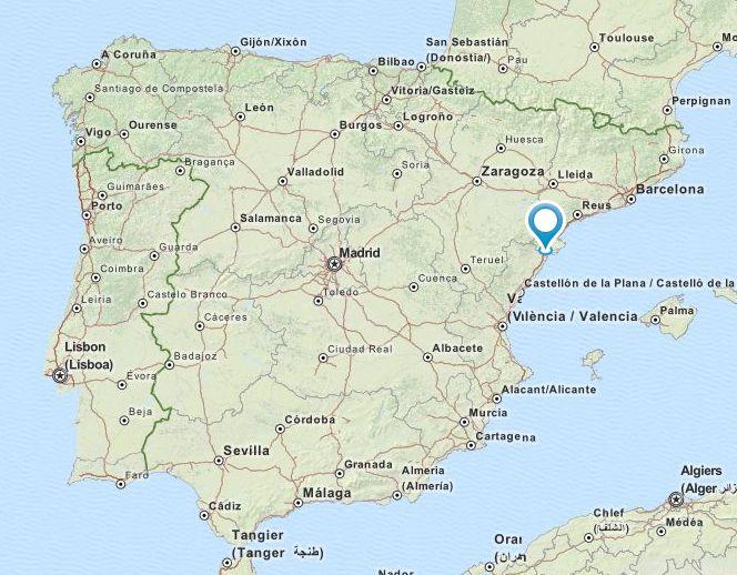 Alcanar Spain Map.Lace Event Spain Xv Trobada De Puntaires D Alcanar May 1 2015
