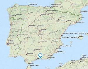 Almunecar map