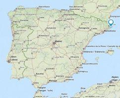 platjadaro map