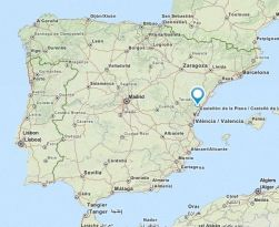 vall dalba map