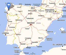 a estrada  map