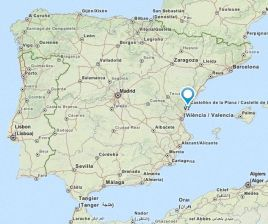 Almassora map