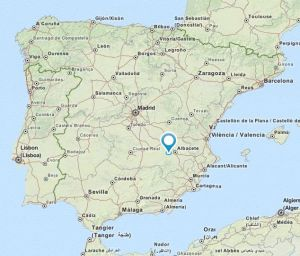 Balazote map