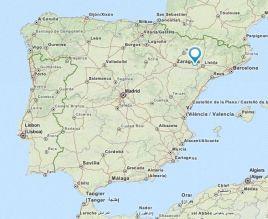 Ballobar map