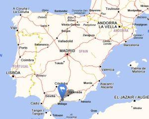 Benagalbon map