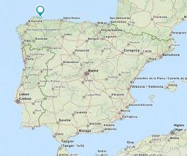 Burela map