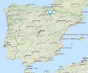 Calahorra map