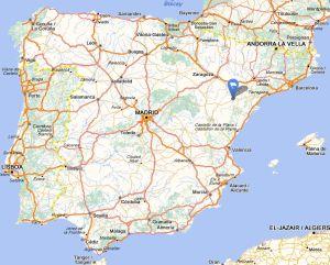 Calanda map