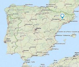 castellseara map