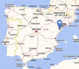 la senia map