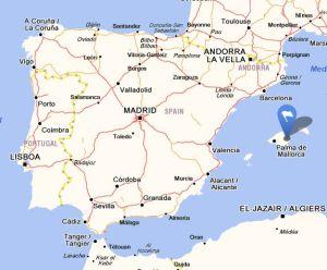 Manacor map