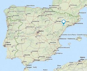 Riba-roja map
