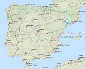 Salou map