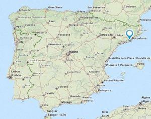 Sant Feliu map