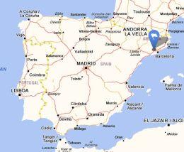Sant llorenc dhortons map