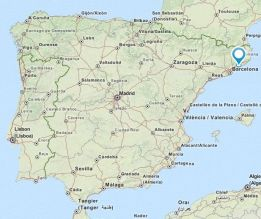 sant pol de mar map