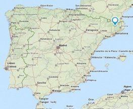 sant vincenc de torello map