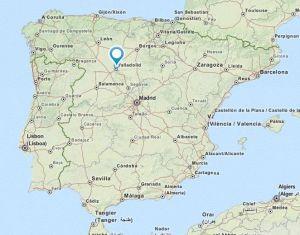 santovenia de pisuerga map