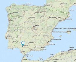 Sevilla map