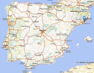 Teia map
