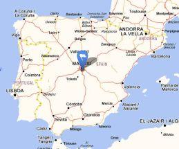 Valdemoro map