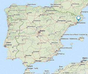 Arenys de Munt map