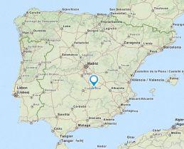Argamasilla map