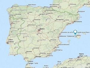 Banyalbufar map