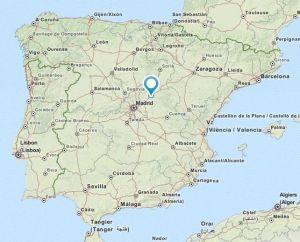 Brihuega map