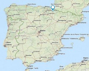 Burlada map