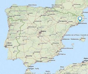 Canet de Mar map