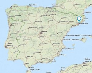 Granollers map