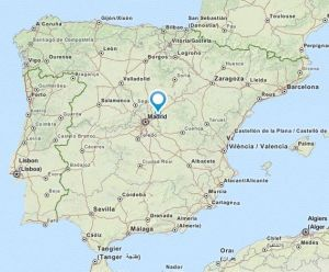 Guadalajara map