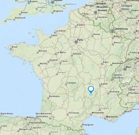 Le-puy-en-velay map