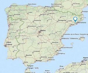 Martorell map