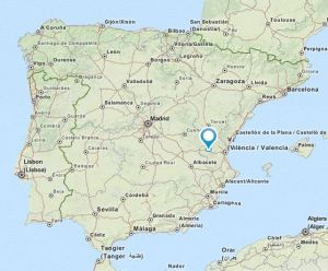 Requena map