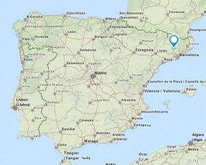Sallent map
