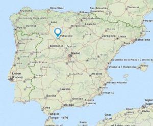 Simancas map