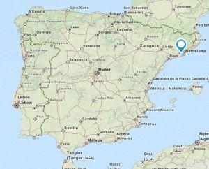 Torrelles de Llobregat map