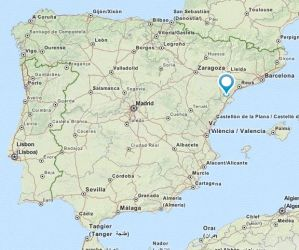 Tortosa map