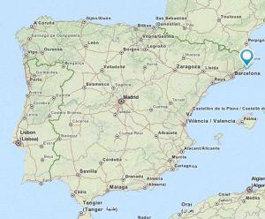 Tossa de Mar map