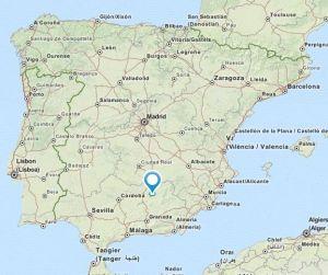 Ubeda map
