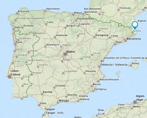 Verges map