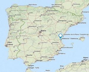 Aldaia map