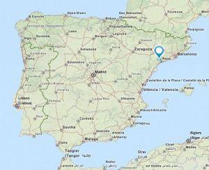 Alforja map