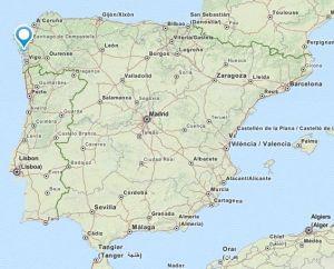 Arousa map