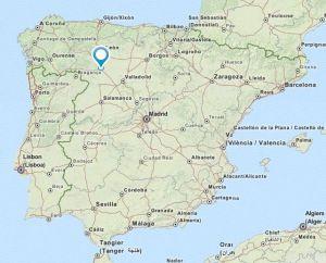 Benavente map